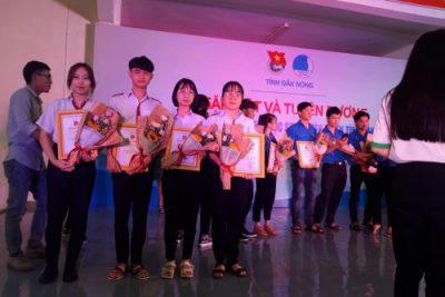 Lễ tuyên dương học sinh tiêu biểu tỉnh Đăk Nông