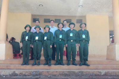 Trường THPT Nguyễn Bỉnh Khiêm tham dự Hội thao GDQPAN lần V năm 2019