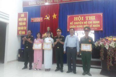 Tham gia hội thi Kể chuyện về tấm gương đạo đức Hồ Chí Minh cùng các chiến sỹ C4