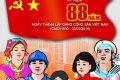 Chào mừng 88 năm ngày thành lập Đảng cộng sản Việt Nam (3/2/1930 – 3/2/2018)