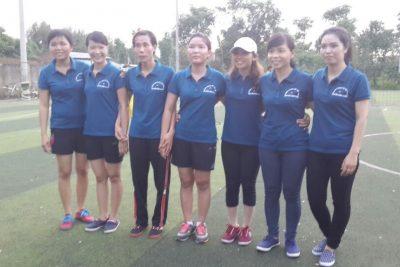 Đội bóng đá nữ Trường THPT Nguyễn Bỉnh Khiêm