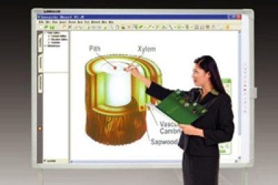 Dạy Vật lý trên bảng tương tác bằng phần mềm Working Model