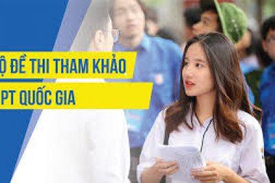 Bộ GD&ĐT công bố đề thi tham khảo THPT quốc gia 2019