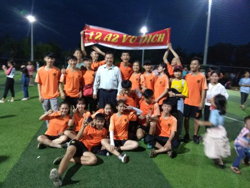 Giải bóng đá truyền thống năm học 2018-2019