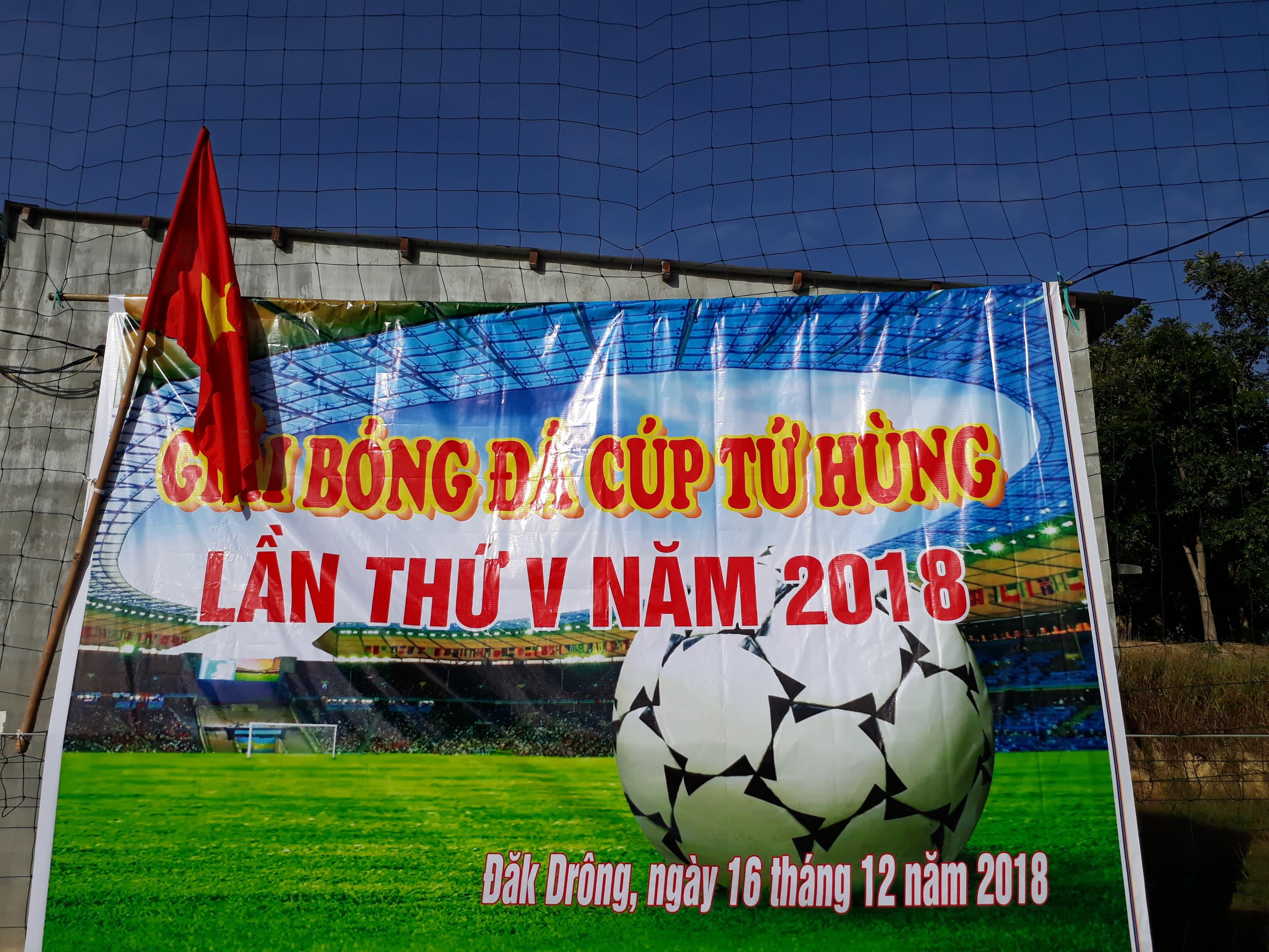 Giải bóng đá cúp Tứ Hùng lần thứ V năm 2018