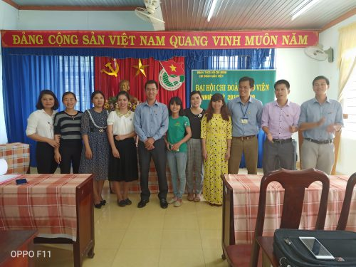 Đại hội chi đoàn giáo viên năm học 2019-2020