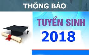 THÔNG BÁO TUYỂN SINH THEO ĐỊA CHỈ NĂM 2018